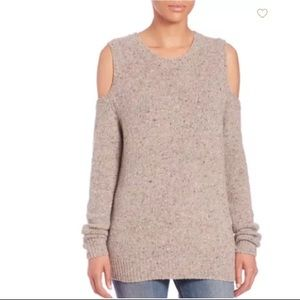 Recebba Minkoff Page Cold-Shoulder Sweater